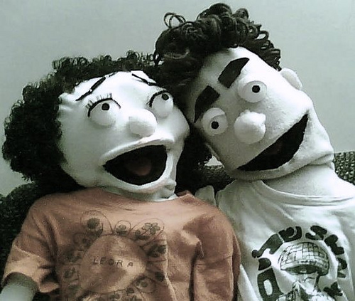 Leora and Ariel Puppets